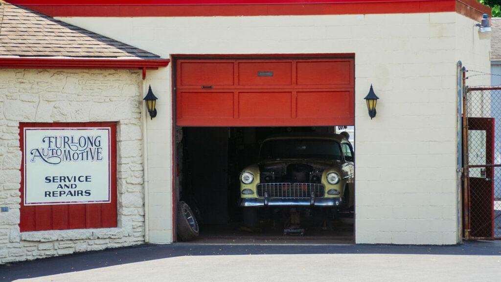 Garage Door Moving Slow